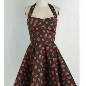 NWOT Modcloth 'Traveling Cupcake' Ixia Dress